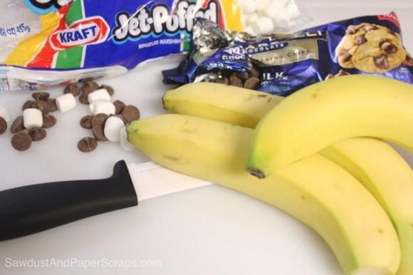 Easy banana boat recipe