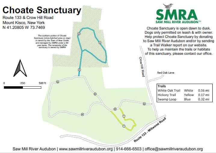 Choate Sanctuary Map