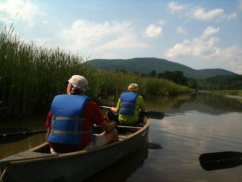 SMRA canoe trip in Constitution Marsh. Photo: Ken Novenstern/SMRA.