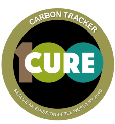 We have licensed the CURE100 carbon tracking app for use by our members and friends. Click above to learn more and try it out.
