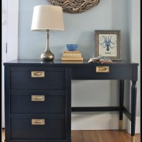 Coastal Blue Desk