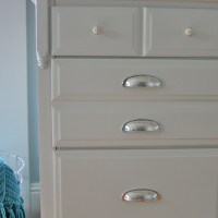 Traditional Maple Dresser Makeover – Tutorial on Adding Feet to a Dresser