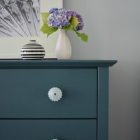Homestead Blue Dresser and Nightstand