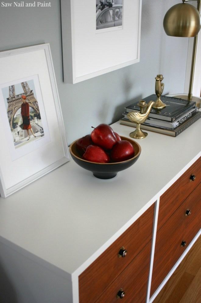 Bassett Mid Century Dresser top