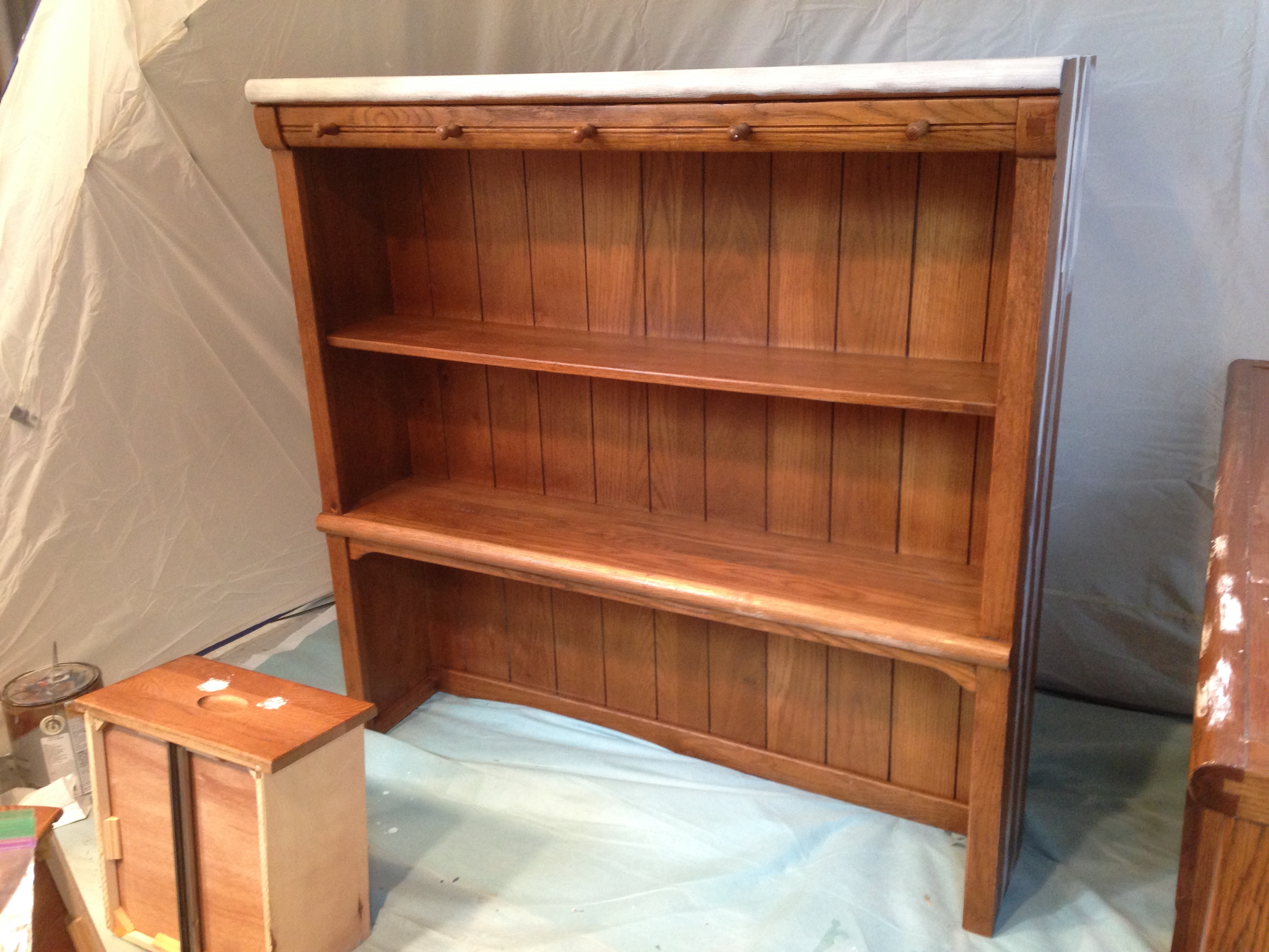 This Is A Really Sturdy Set Made By Lexington Furniture. It Started Out  Like This: