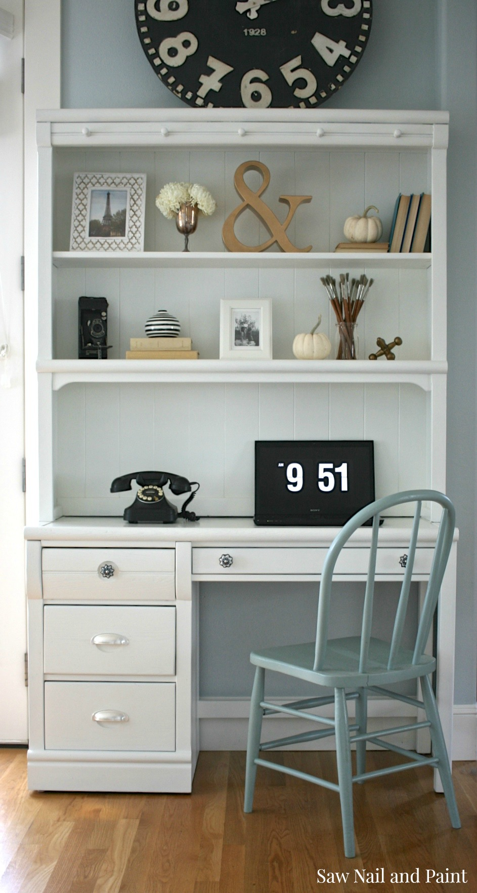 hutch desk with drawers and nongzi white co