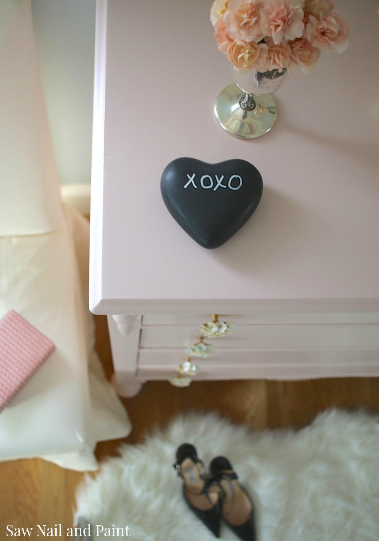 Blush Dresser top