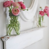 Simple Display Ledge Made from Salvaged Crown Molding