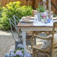 French Farmhouse Garden Table