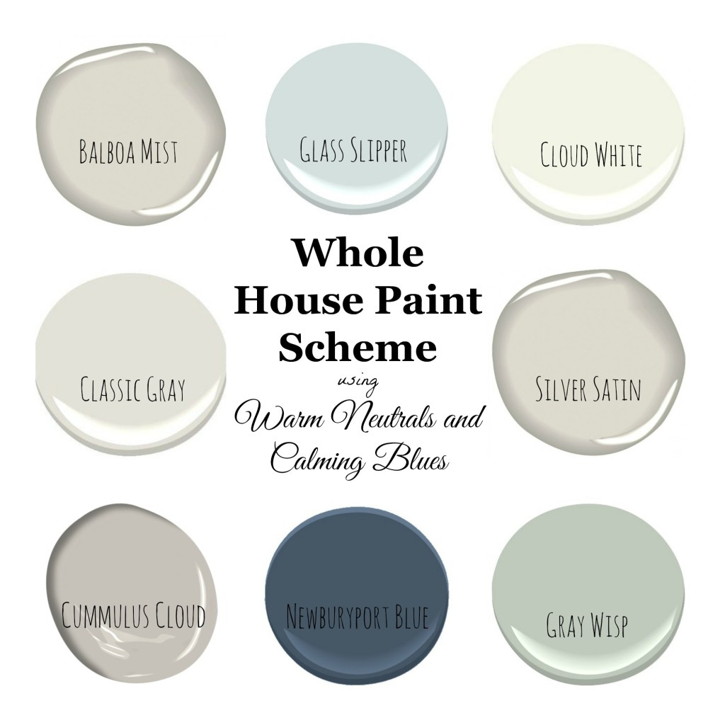 10 Living Rooms With Calming Colors: My Home Paint Colors: Warm Neutrals And Calming Blues