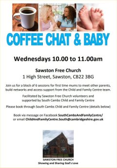 Coffee Chat & Baby - click for full size