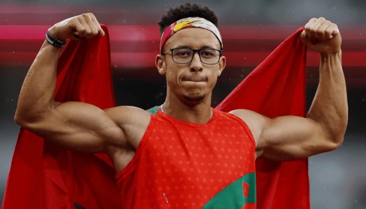 صورة العداء عبد السلام حيلي يمنح المغرب أول ميدالية ذهبية بالألعاب البارالمبية