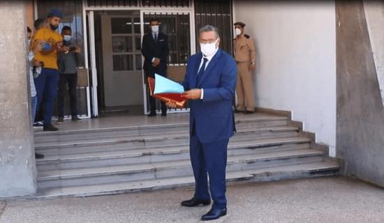 صورة عزيز أخنوش يضع ترشيحه لرئاسة جماعة أكادير