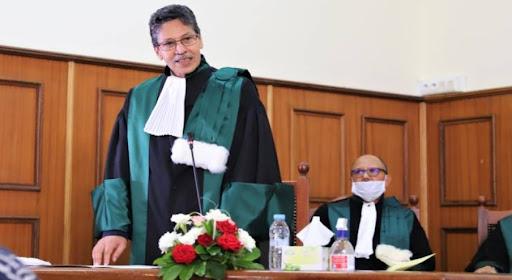 صورة تنصيب الوكيل العام للملك لدى محكمة الاستئناف بالرباط خلفا للداكي
