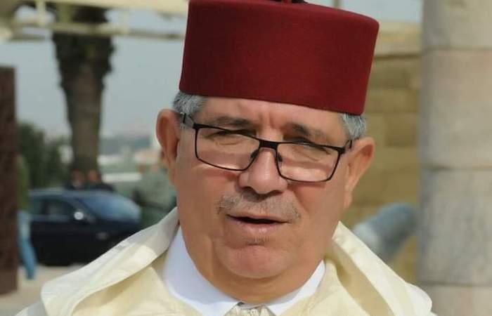 صورة البرلماني البامي التويزي يعزي في وفاة والدة الامين العام لحزب البام عبد اللطيف وهبي