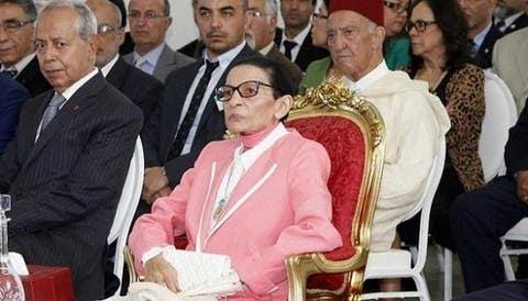 صورة عمة الملك محمد السادس الأميرة لالة مليكة في ذمة الله