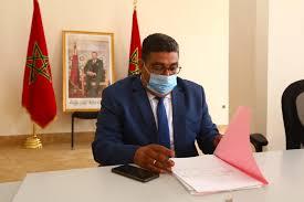 صورة البامي محمد شقيق المرشح الوحيد لرئاسة المجلس الجماعي لواحة سيدي إبراهيم بعمالة مراكش
