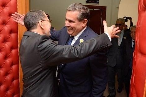 """صورة أخنوش يوجه الدعوة إلى """"البيجيدي"""" للتشاور بخصوص تشكيل الحكومة"""