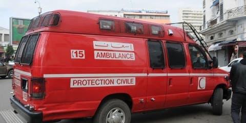 صورة مصرع عشريني في حادثة سير مروعة بمنطقة المحاميد مراكش