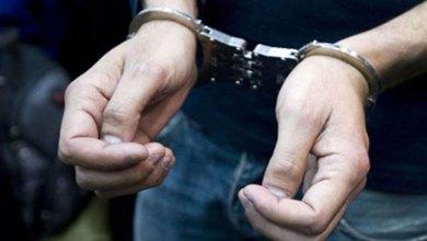 """صورة اعتقال """"كراب"""" بمراكش متلبسا بحيازة 500 لترا من الكحول بالمدينة العتيقة"""