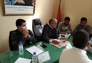 صورة المجلس الجماعي لتمازوزت بالحوز يصادق على تشكيل اللجان الدائمة للمجلس وانتخاب ممثليه