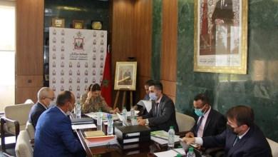 صورة العمدة المنصوري تترأس اجتماعاً للوقوف على وضعية النقل الحضري بمراكش