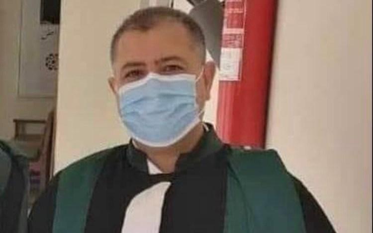 صورة رئيس المكتب الجهوي لنادي قضاة المغرب بمراكش ينعي زميله عبد الله الناصري