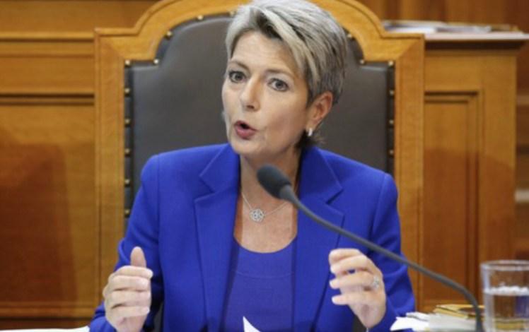 صورة وزيرة العدل السويسرية تجدد تأكيد موقف بلادها بخصوص قضية الصحراء المغربية