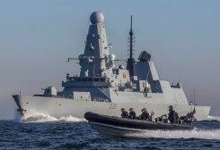عناصر من البحرية البريطانية - أرشيفية