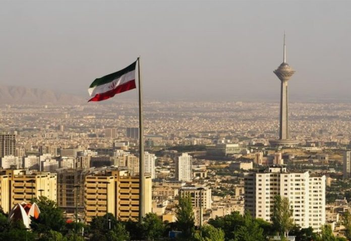 A general view of the Iranian capital, Tehran