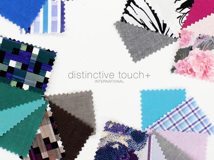 distinctive touch+ International – 1 Year