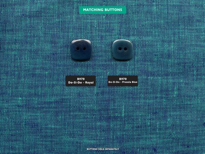 HeatherLinen – Blue Glass