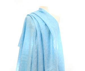 HeatherLinen – Turquoise Blue