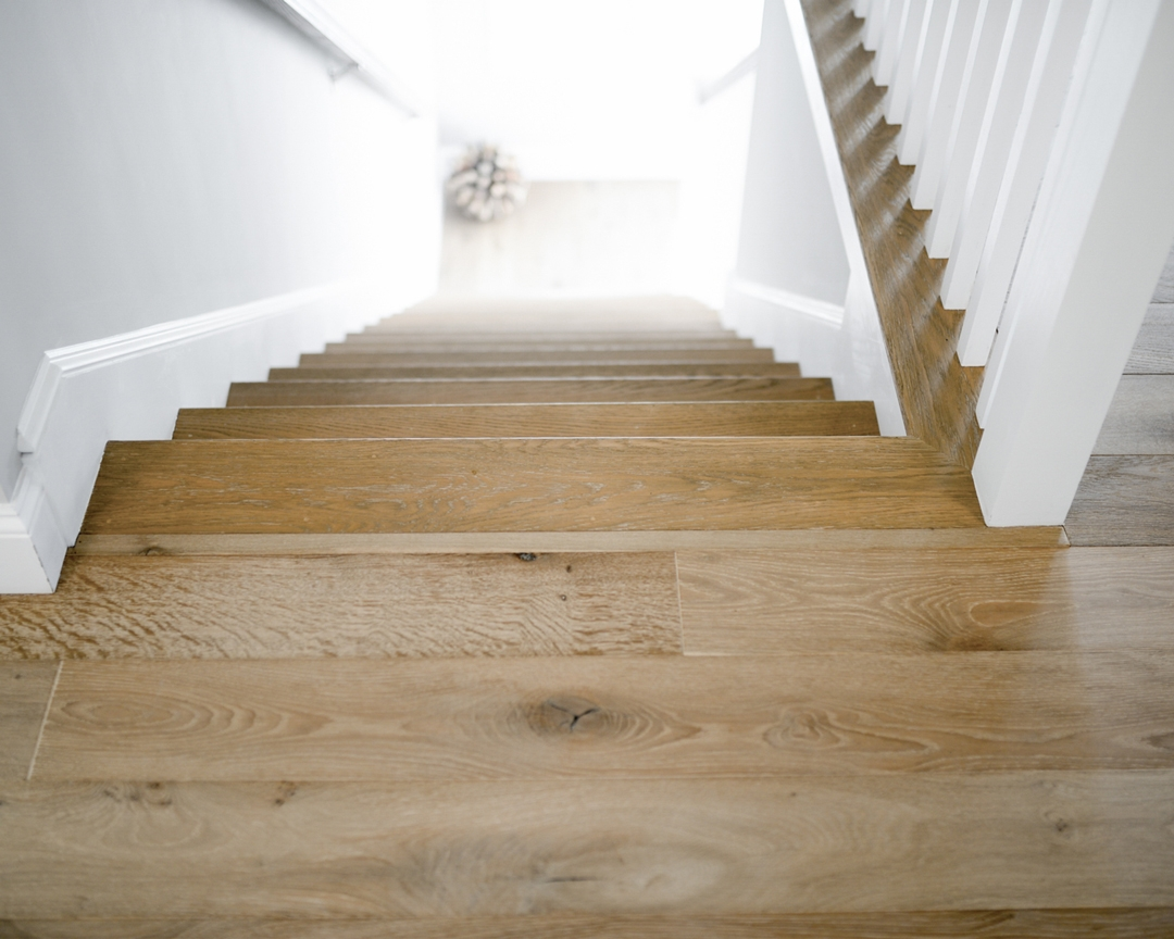 Engineered Wide Plank Flooring Tisbury From Sawyer Mason   Prefinished Retro Stair Treads   Maple   Stair Nosing   Red Oak   Brazilian Cherry   Risers