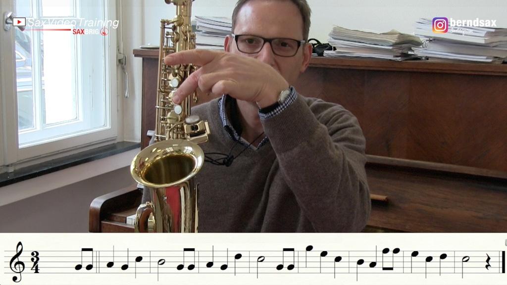 Happy Birthday To You Alto Saxophone Sheet Music Notes Youtube