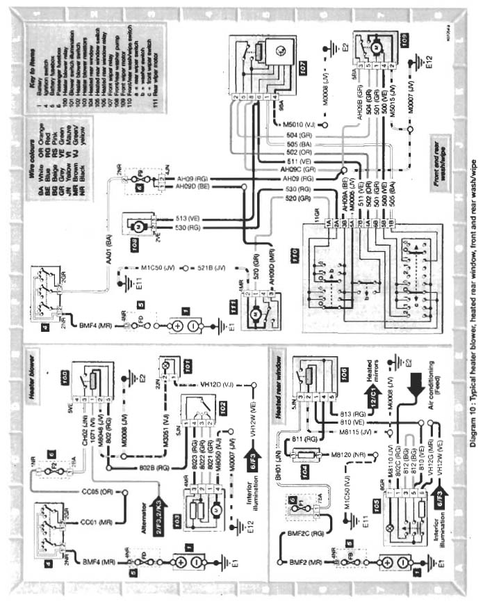 Heater Plug Wiring Diagram