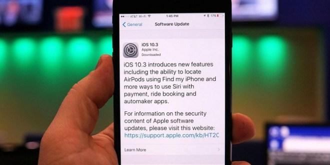 لیست کامل تغییرات بهوجود آمده در iOS 10.3