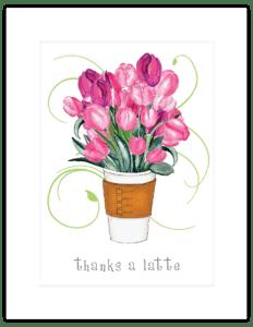 FL 08b - tulip filled latte