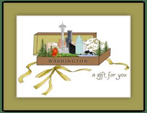 SP 26c - gift box washington