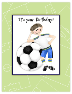BB 30 - soccer boy