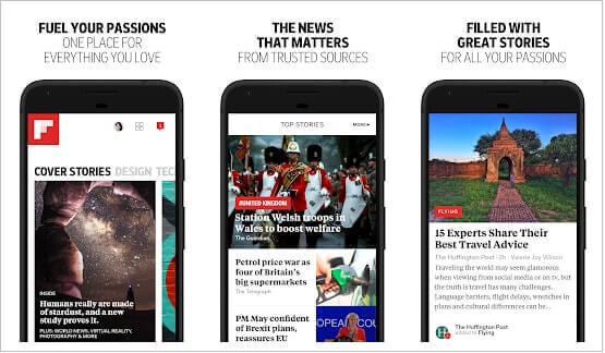 Flipboard Application