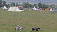 TOM STROMME/Tribune The Seven Councils Camp is in a scenic area of Morton County along the Cannonball River and North Dakota Highway 1806.
