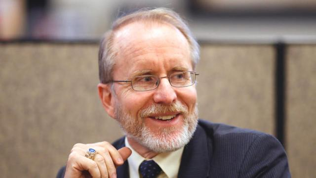 FILE PHOTO: Chancellor Mark Hagerott of the North Dakota University System. ( Eric Hylden/Grand Forks Herald)