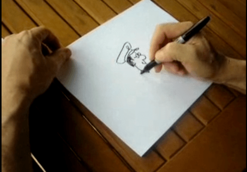 How to draw a Salvation Army Officer