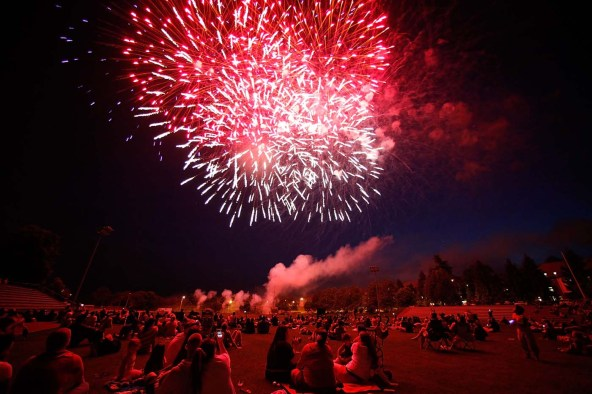 U.S. Forces Celebrate July 4th At Baumholder Base