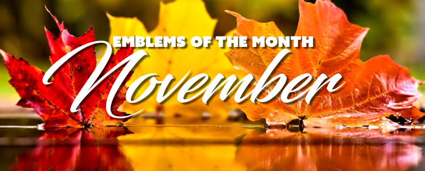 Emblems of the Month – November