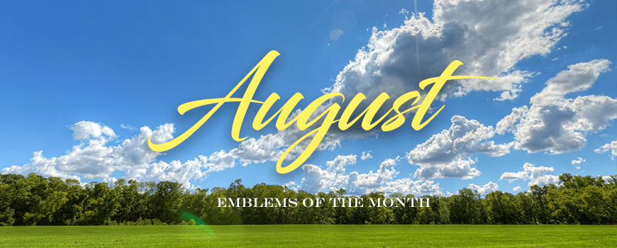 Emblems of the Month – August