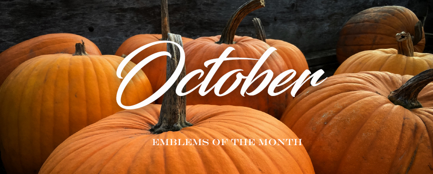 Emblems of the Month – October 2017