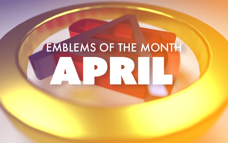 April – Emblems of the Month