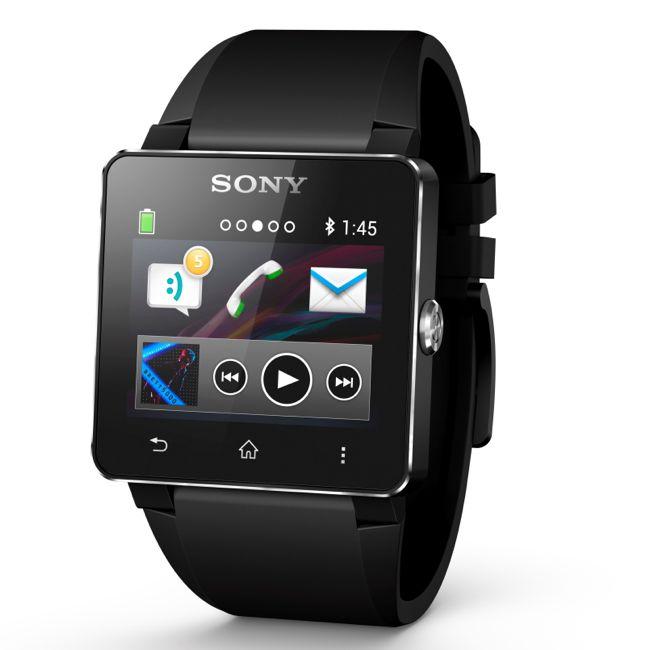圖1_史上第一支具備NFC技術的防水智慧手錶 Sony SmartWatch 2